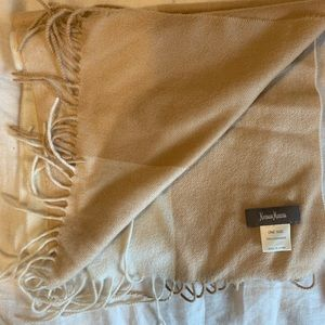 Two-Toned Oatmeal Cashmere Scarf